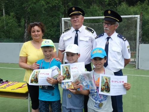 Športové hry žiakov pri príležitosti sv.Floriána - patróna hasičov aDňa detí
